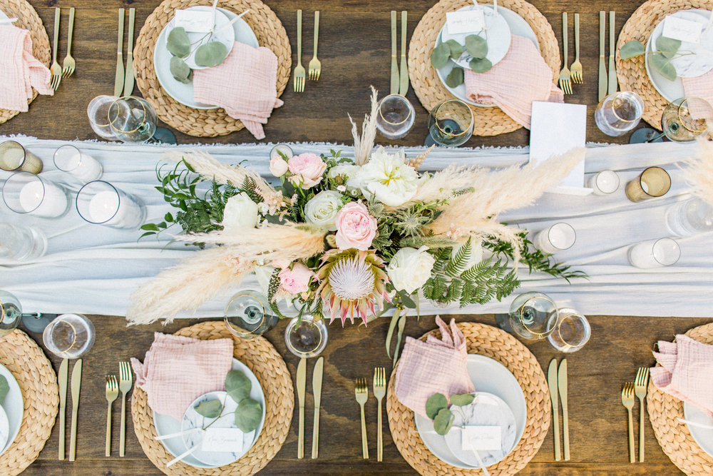 40. Sophisticated Boho Wedding Table.jpg