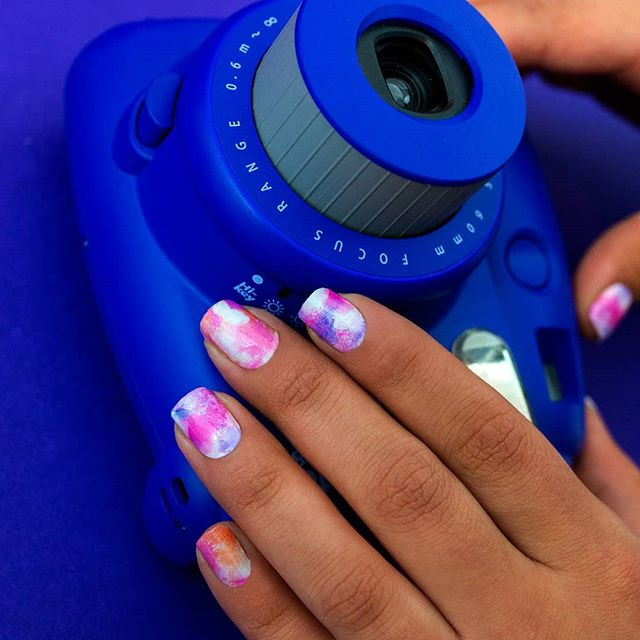 """Alter Ego"" is a pastel dream to start your week. #coconutnailart #incoco #watercolornails"