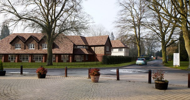 Woodland Manor - the new Porthaven dementia care home on the Epilepsy Society site. Together with the support of the community, Sense4csp helped this worthwhile facility to become a reality.