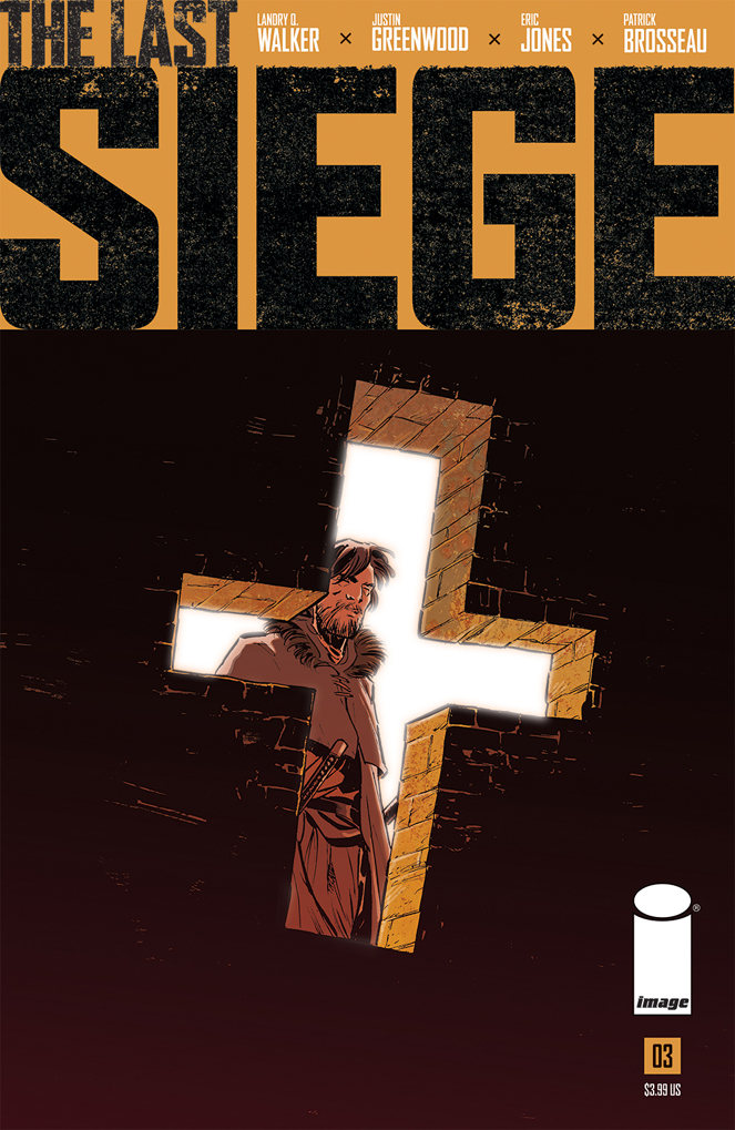 THE LAST SIEGE #3 Main Cover by Justin Greenwood and Brad Simpson