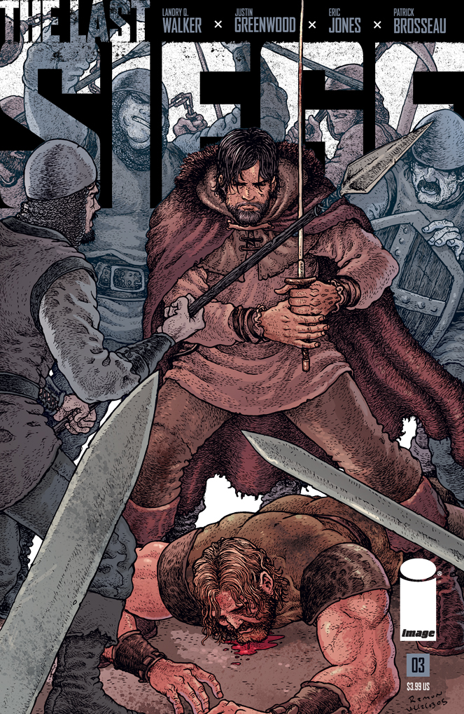 THE LAST SIEGE #3 Variant Cover Art by Ramon Villalobos and Brad Simpson