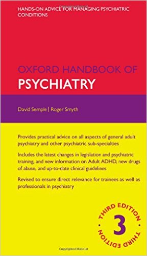 oxford handbook of psychiatry