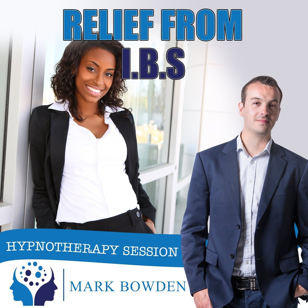 Relief from Irritable Bowel Syndrome Syndrome Hypnosis CD by Mark Bowden