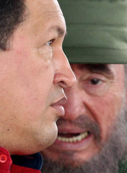 Hugo Chávez y Fidel Castro en Cuba en 2006. ADALBERTO ROQUE AFP/ GETTY