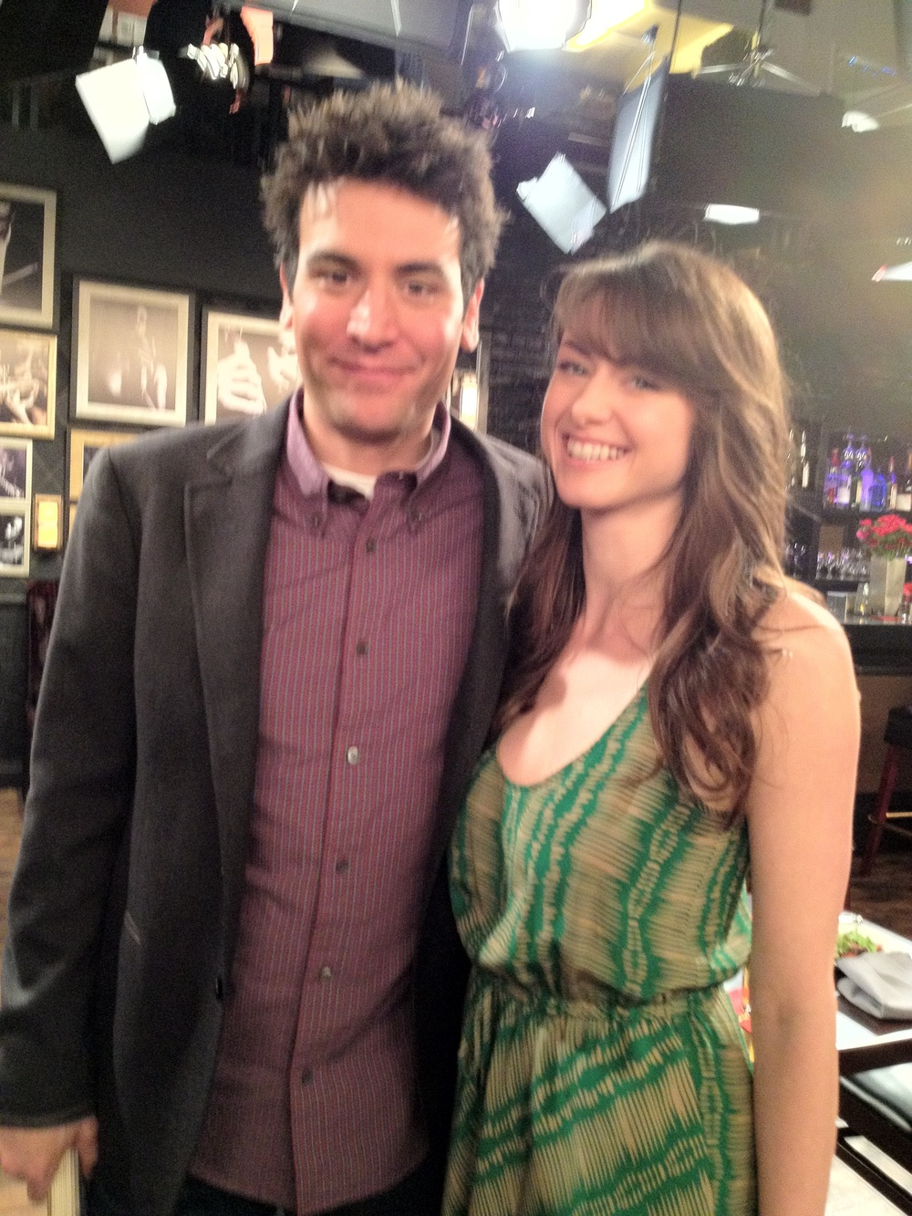 "On Set for ""How I Met Your Mother"""