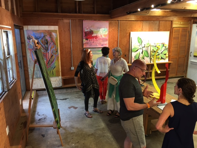 FOLIOEAST opening in the barn at Studio 144 in East Hampton, in the heart of NOMA.