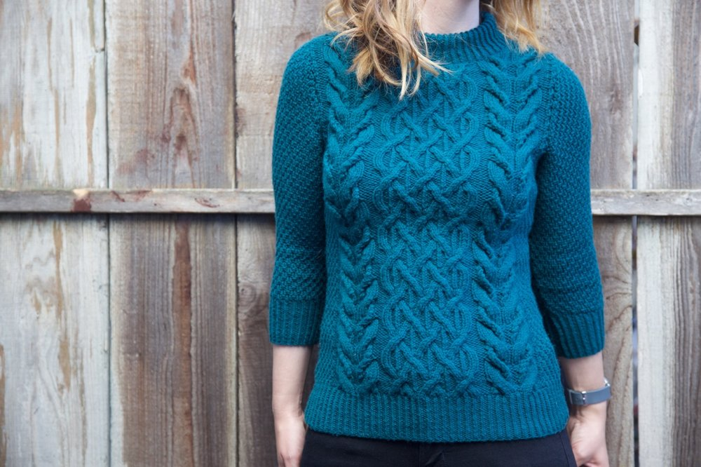 I might have to knit this sweater in 5 more colors!