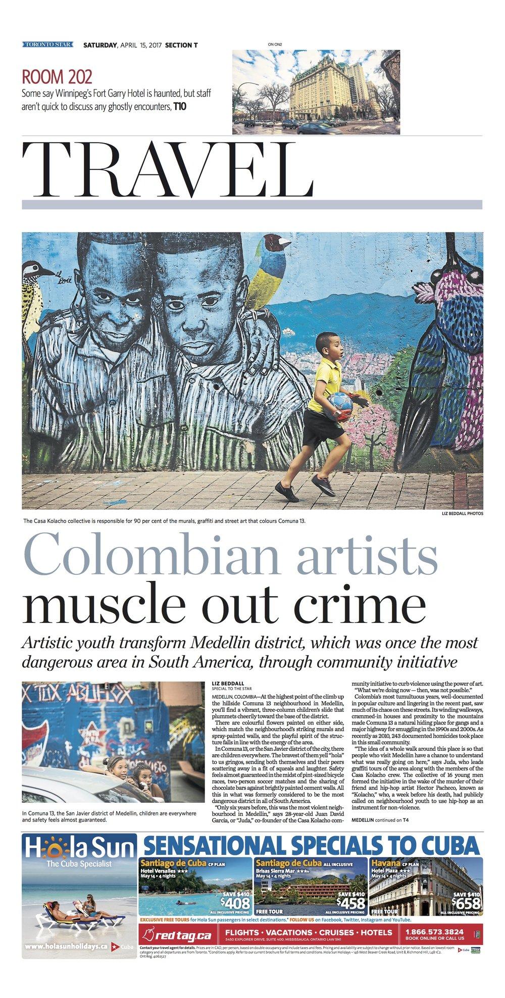 Medellin, Colombia: Apr. 15, 2017