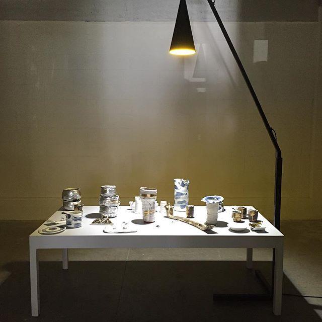 Central installation view- Mould @ Precinct35