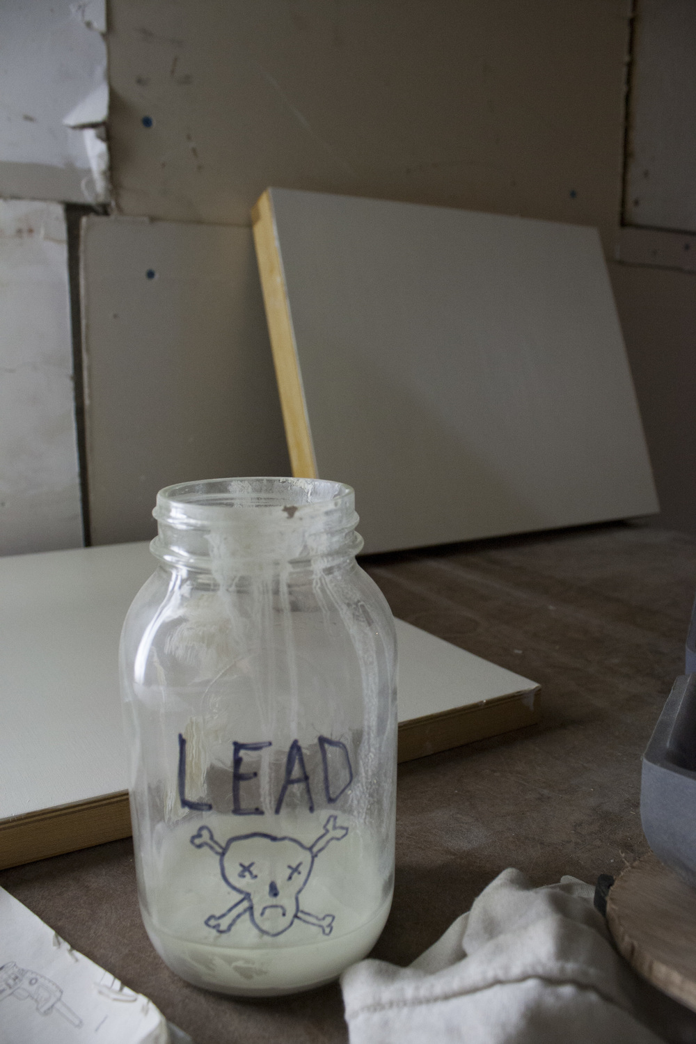Lead priming is a traditional and long lasting method... but not entirely safe.