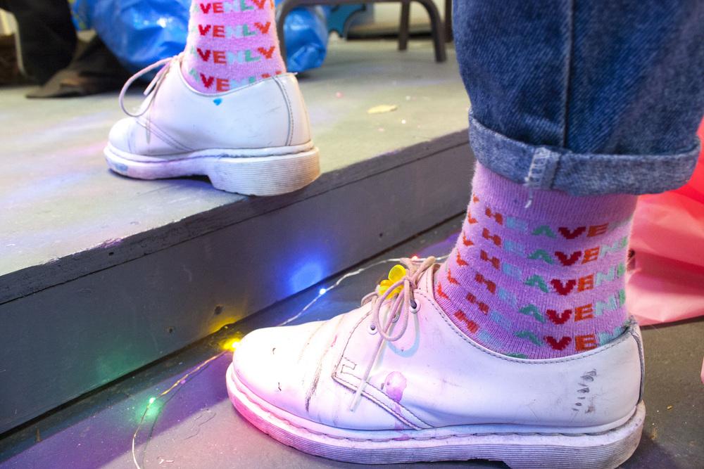 Hayley Elsaesser socks.