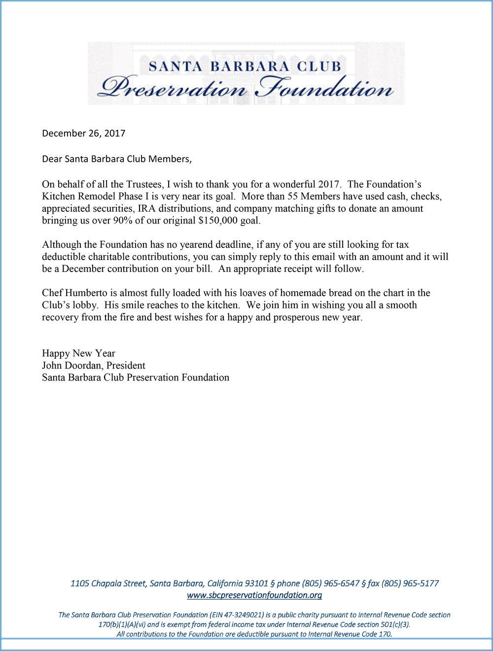 SBCPF Message from Foundation President John Doordan December 2017.jpg