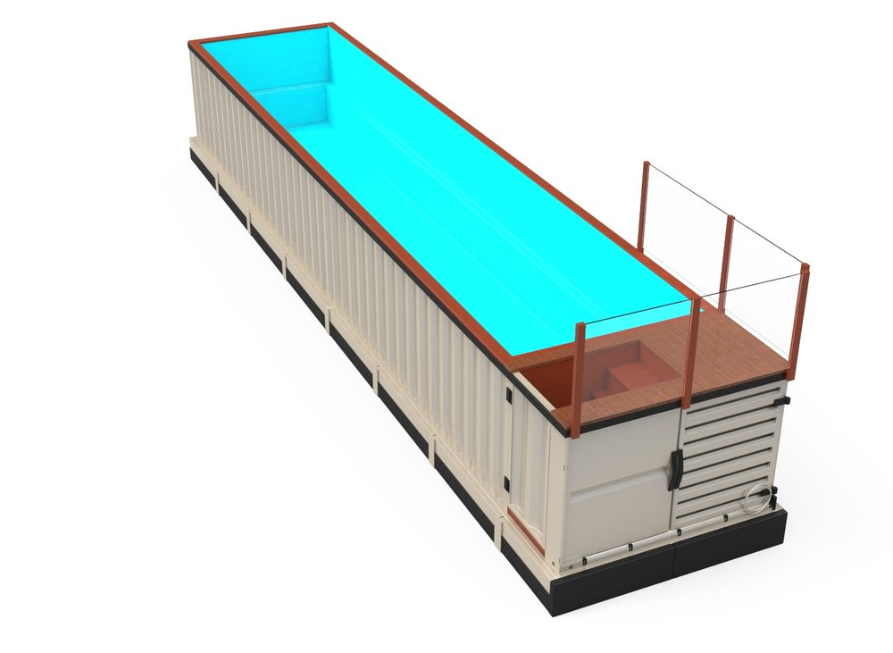 25 beautiful container swimming pools nz. Black Bedroom Furniture Sets. Home Design Ideas
