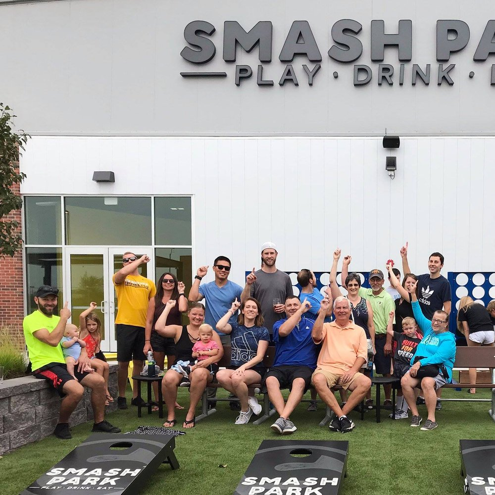 August 20, 2018   Thank you to Smash Park for giving our team the opportunity to enjoy their newly completed project. This 47,000 square foot indoor/outdoor venue took us just under 9 months to complete and will be open to the public this September. The Koester team had a great time trading in our hard hats for pickleball paddles! 🍔🍻🏓