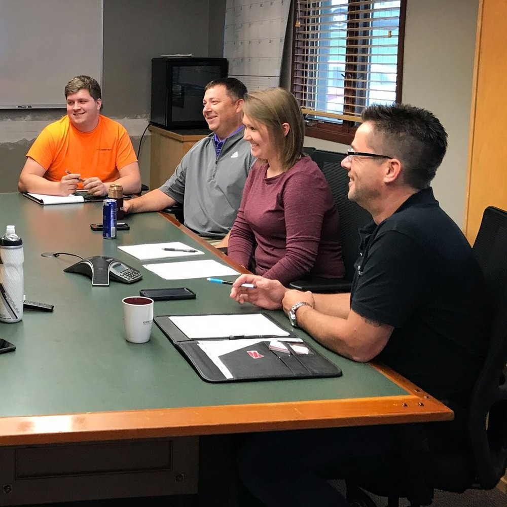 September 21, 2018   Happy Friday from the PE/PC team. This week's development meeting covered job startup and how to successfully set up our superintendents for successful projects.