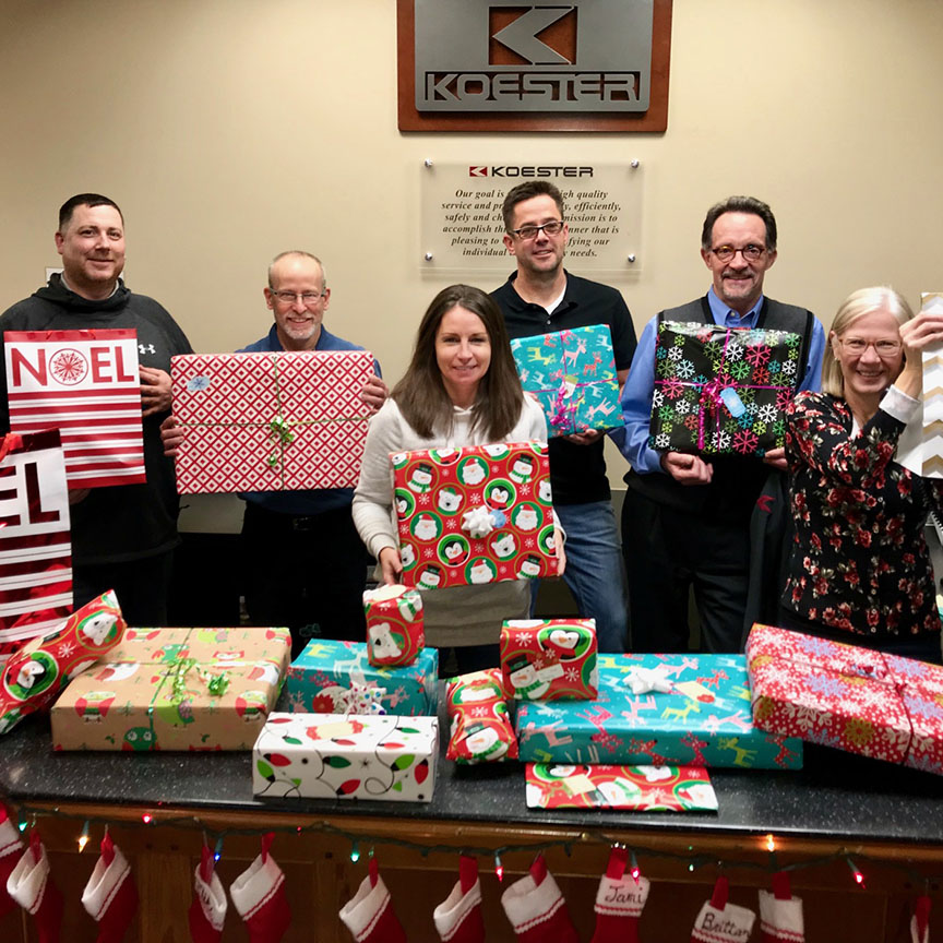 December 20, 2018   Thank you to the Urbandale Community Action Network (UCAN) for connecting our team with a local family to adopt for Christmas. This annual tradition is a great way to *wrap* up the year! 🎁