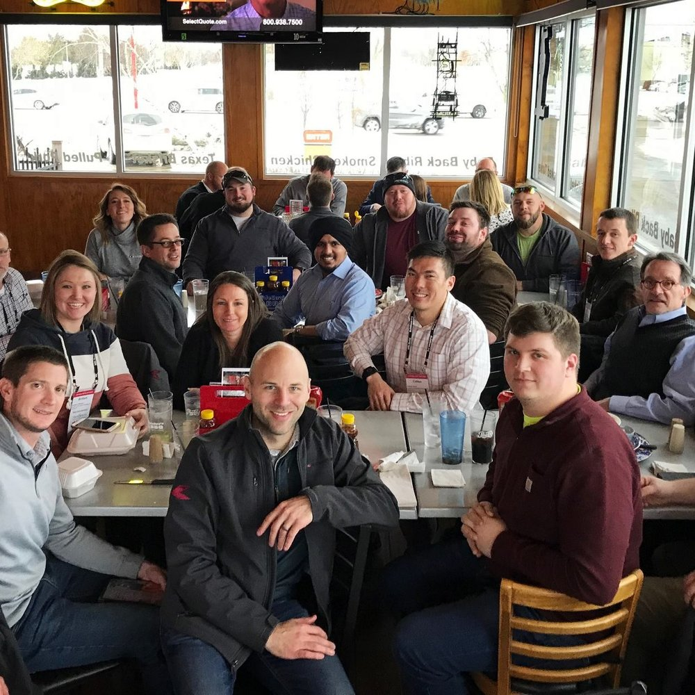 February 27, 2019   Thanks to Master Builders of Iowa for putting on another fantastic #MBIWinterConference. Our team spent the day in educational sessions learning the industry latest on scheduling, estimating, motivating, and more. Looking forward to today's safety sessions!