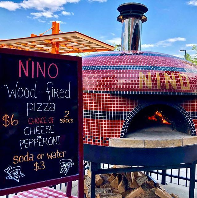 Wood-fired 🍕 + live 🎶 = every Wednesday and Thursday evening this summer!