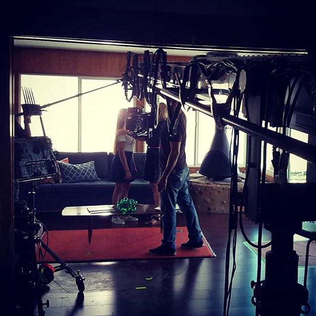 Vertigo Cranes and the New Technocrane 22 indoors framing the shot. . . . . #camera #technocrane #supertechnocrane #dp #dırectorofphotography #gettheshot #producer #onset #setlife #bts #cinema #cinematography #photooftheday #cameraoperator #cameraassistant #hardwork #asc #alexa #production #productionlife #goals #gettingitdone #crew #filmmaking #movies #crewlife  #goodvibes #instagood #small