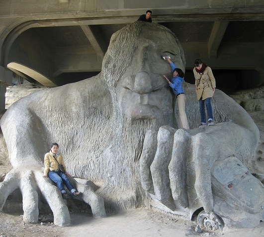 Seattle Qwik Tour Fremont Troll