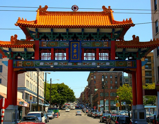 Seattle City Tour Chinatown Gate
