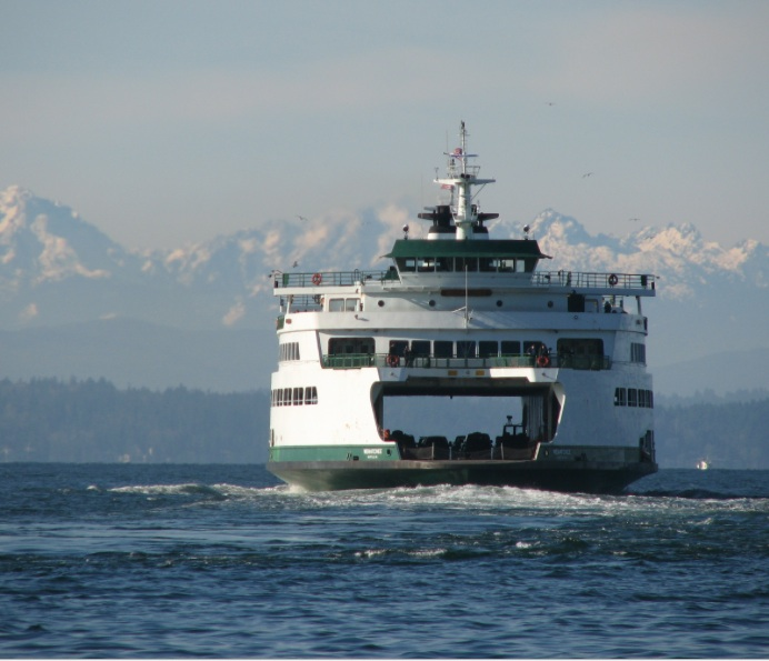 Seattle Qwik Tour Ferry Boat
