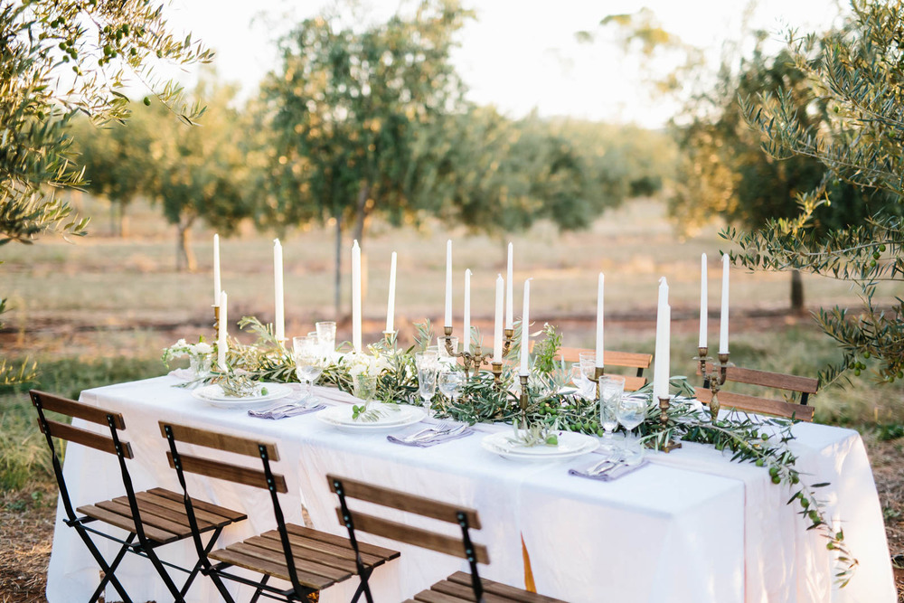 Olive Grove Intimate Dinner | maisonmeadow.com.au | Sophie Thompson Photography