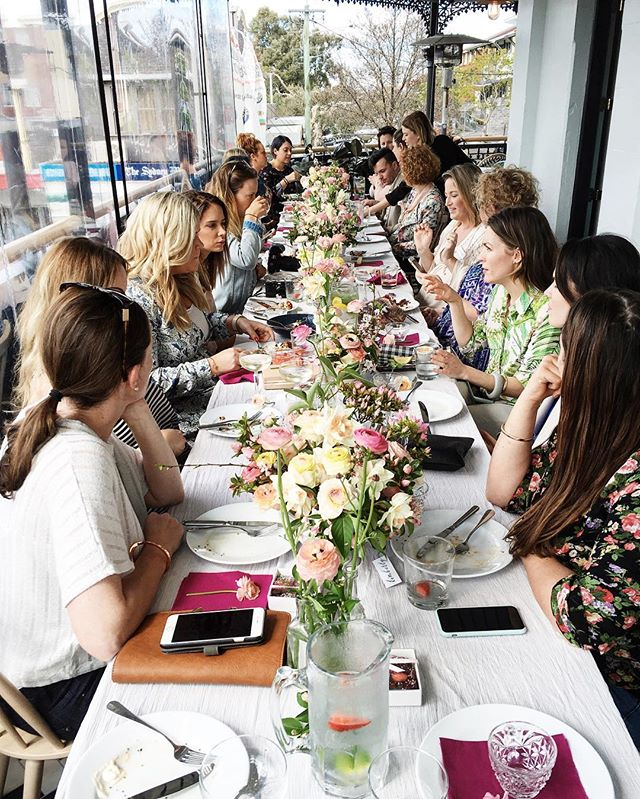 Thank you to all the lovely creatives that came along yesterday to the #mmspringlunch .  Hope you all had a great time!  Let's all continue to support each other & great beautiful things 💗 . #maisonmeadow #eventdesign #spring #sydney