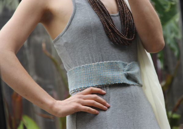 Laraloom belts. 100% wool, hand-dyed, handwoven. San Francisco, 2012