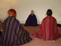 Meditation on our UK detox retreat holidays in Devon