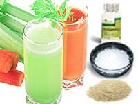 Organic juices at sura detox retreats