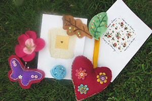 Creativity and craft sessions at our UK detox retreat