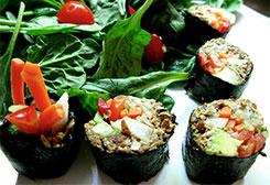 Raw Sushi Rolls