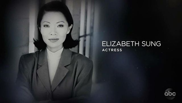 This caught me by surprise last night.  Never thought I'd personally know one of The Academy's In Memoriam artists.  It was so moving to see the magnificent Elizabeth Sung remembered and celebrated for all to see amongst so many other icons. She was so much more than an actor, she was a writer, film maker, teacher, and leader amongst our AAPI community and she left us too soon. Absolutely the highlight for me from last night's awards. #RestInPower