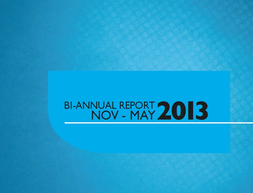 Bi-Annual Report May 2013