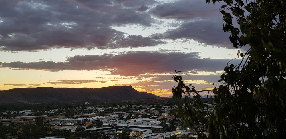 Anzac Hill - overlooking Alice Springs town