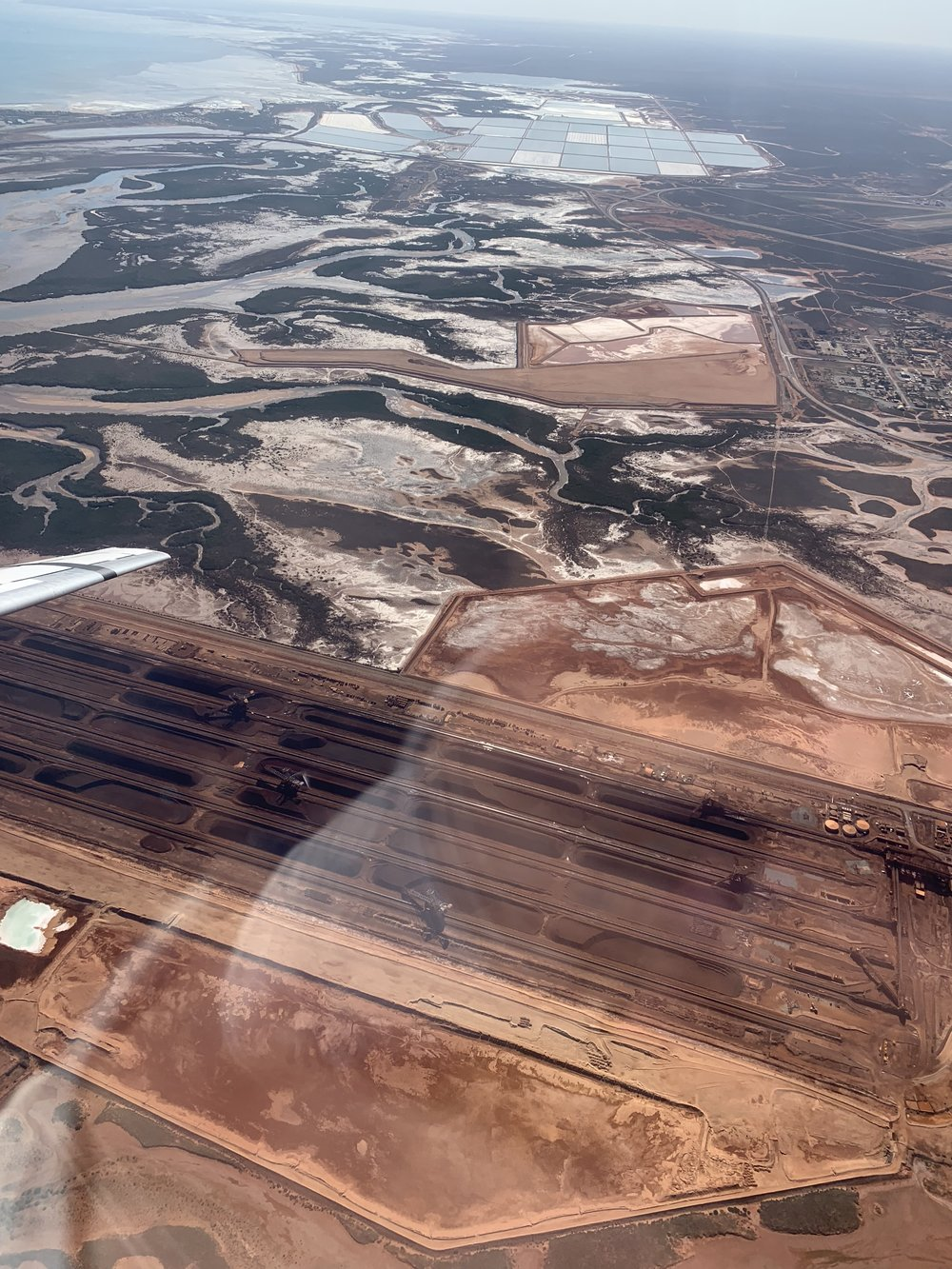 Port Hedland from the air