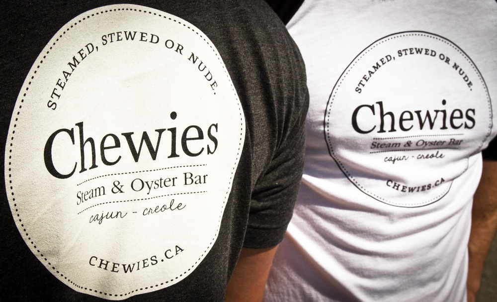 Chewies Oyster Bar Shirts