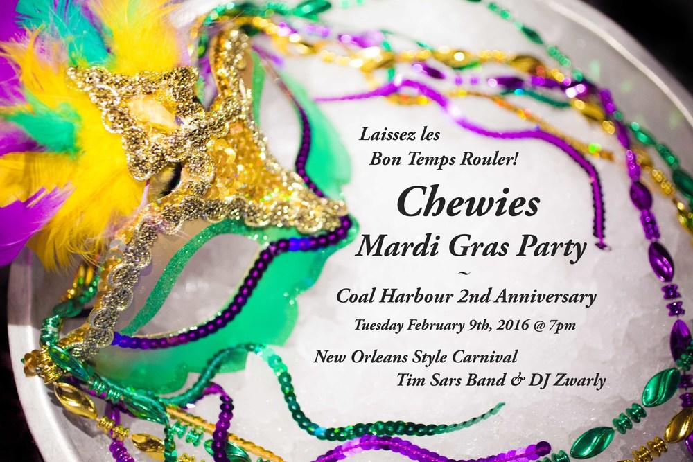Mardi Gras Invite 2016