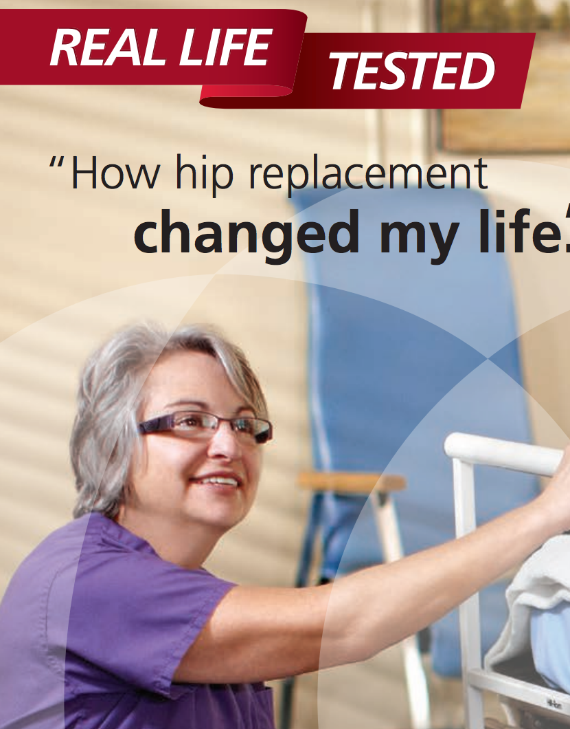 How hip replacement changed my life Cat. No. DPUH2B1BR713