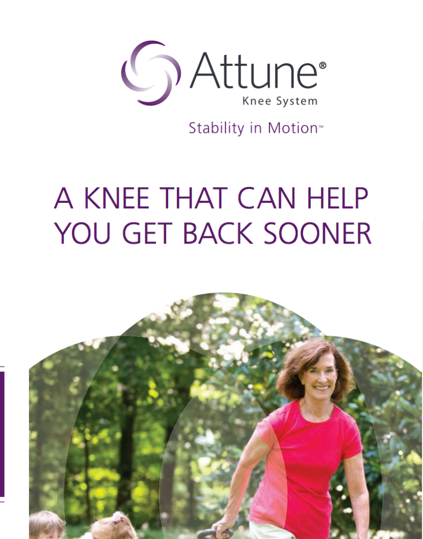 ATTUNE® Knee System Cat. No. DSUS/JRC/0614/0294