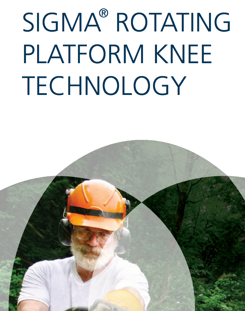SIGMA® RP Knee Technology Cat. No. 0612-32-506