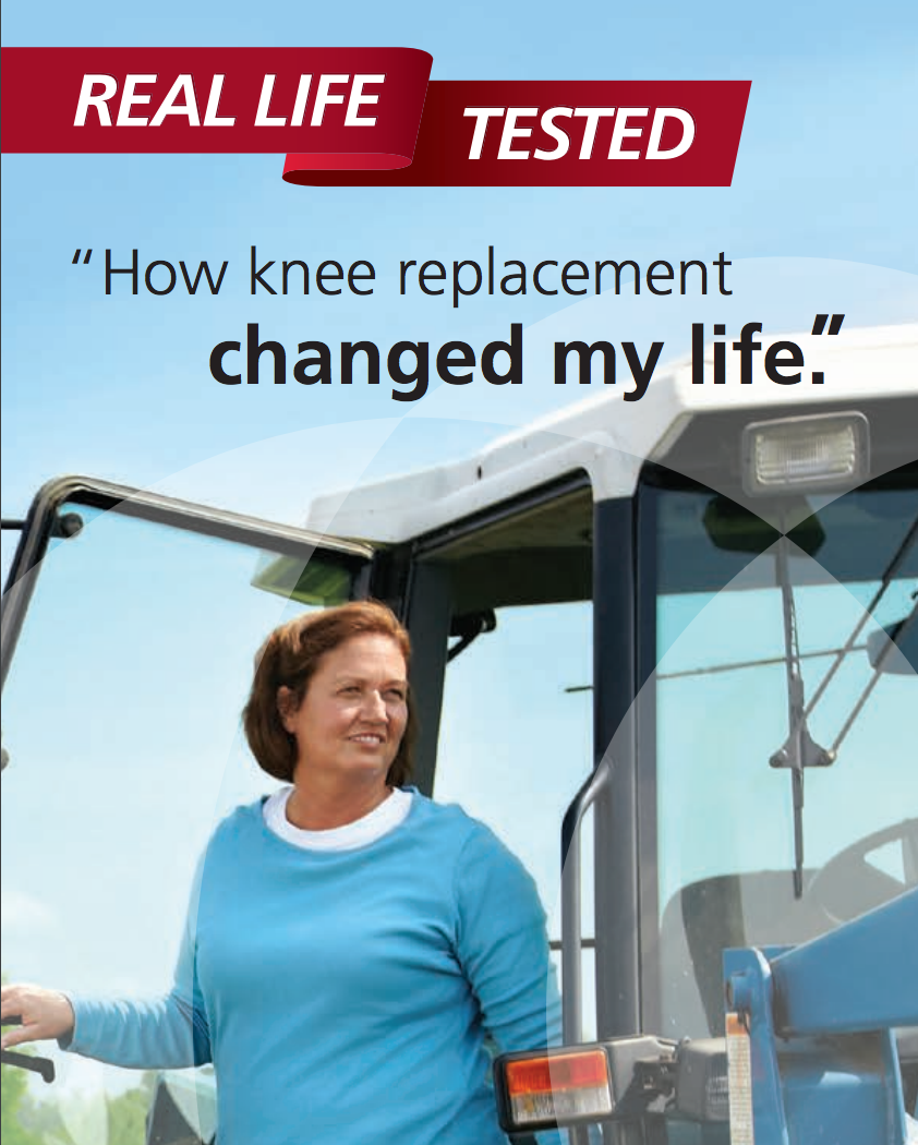 How knee replacement changed my life Cat. No. DPUK2B1BR713