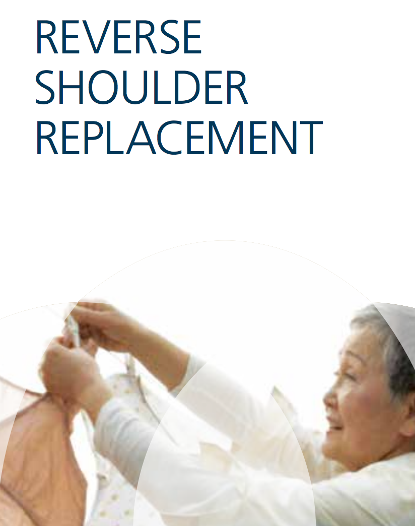 Reverse Shoulder Replacement Cat. No. DSUS/JRC/0715/0942
