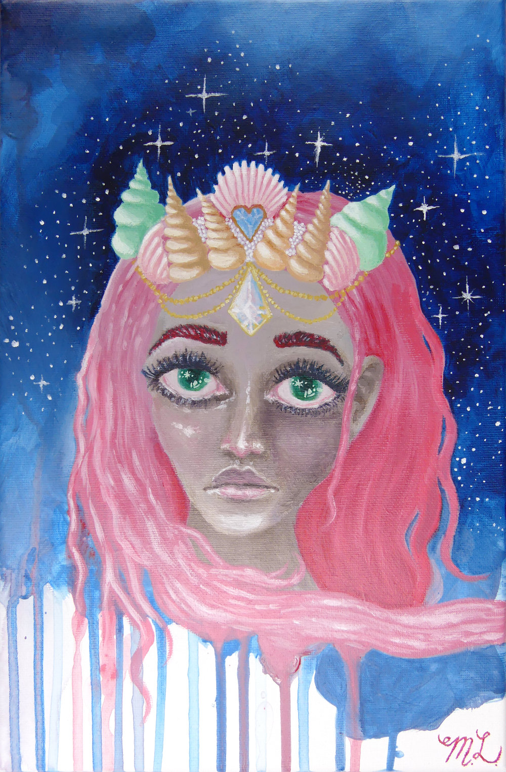 SPACE MERMAID GODDESS
