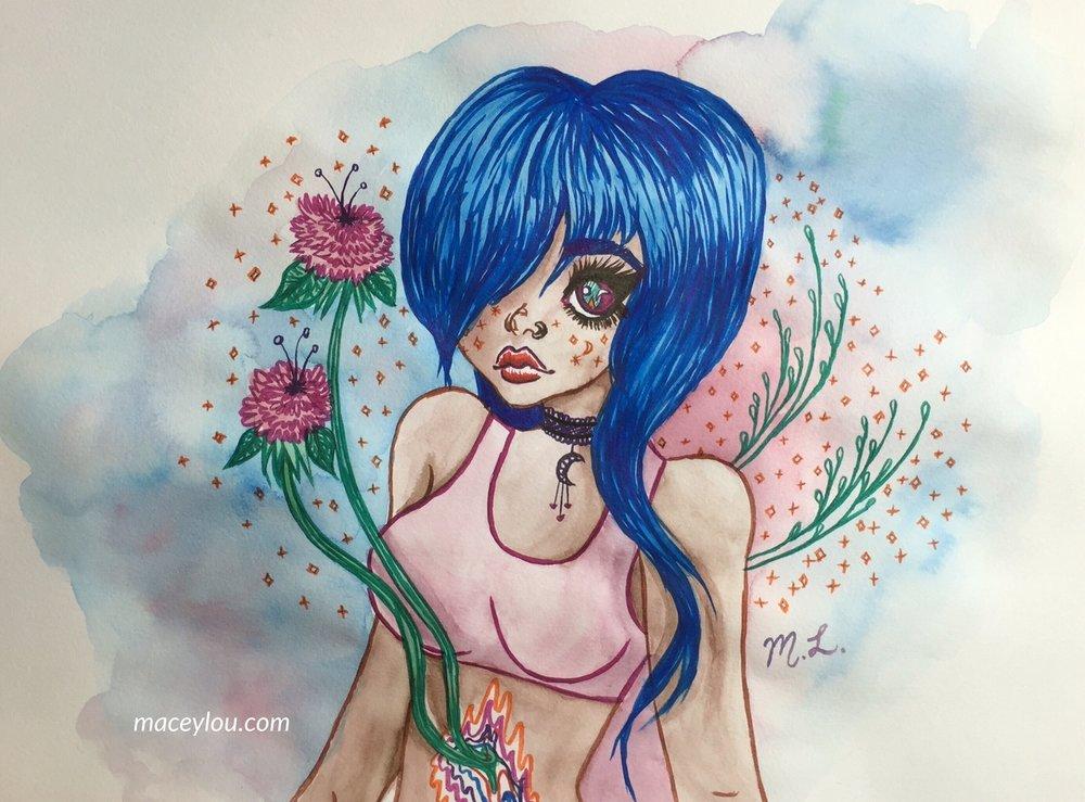 """""""Grow and Change, Kawaii Girl"""""""