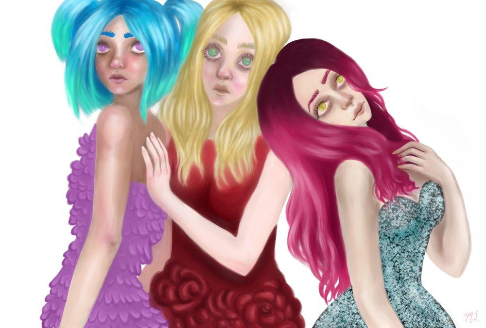 """Three Maidens"""
