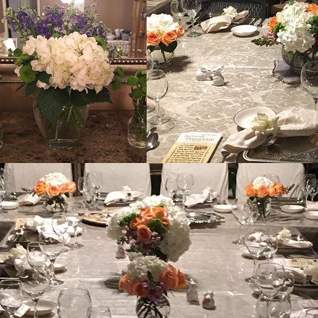 Passover Sedar 2018  #familytime #pesach2018 #passover #matzah #stylist #tablesetting