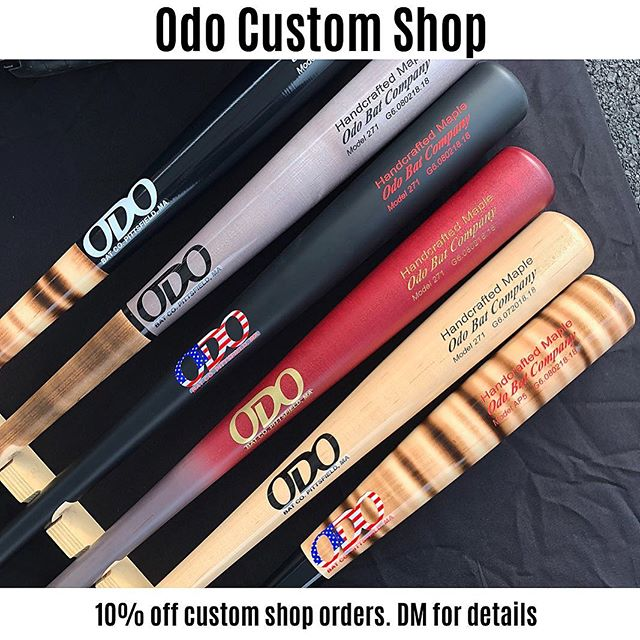 All bats for this holiday season will be cut to order.  No ready to ship bats.  They are a limited run so get your order in now! #odobatco #woodbats #baseball #custom #woodworking #berkshires