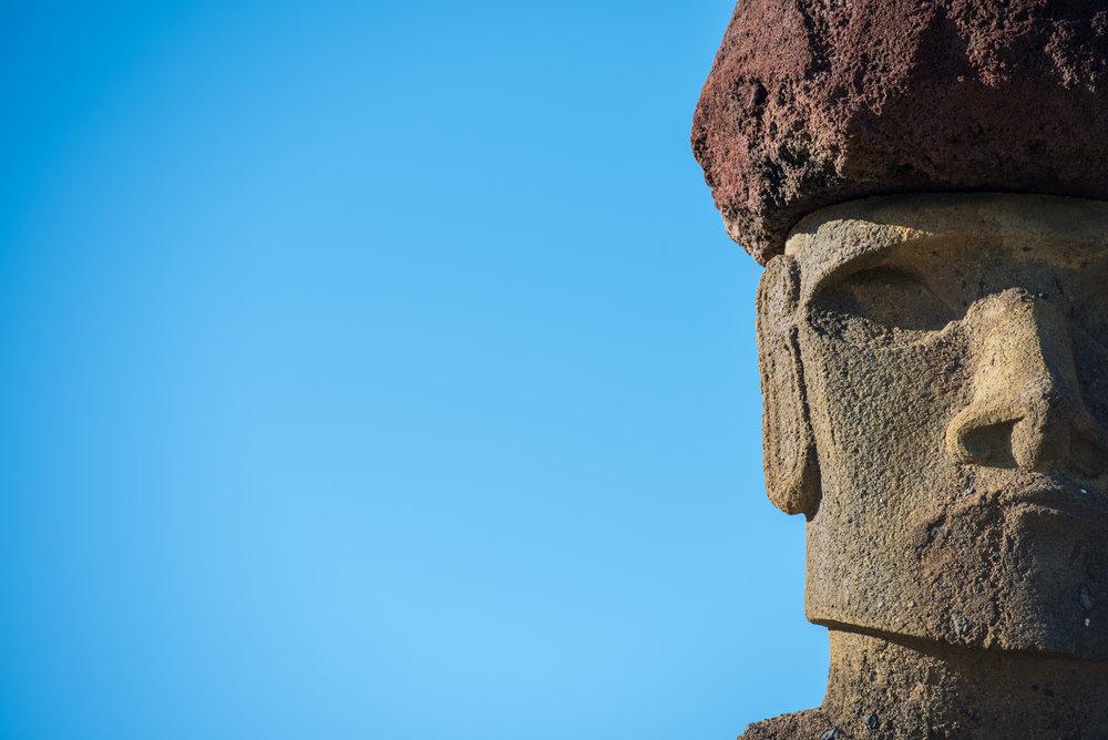 Fifteen Moai, Easter Island